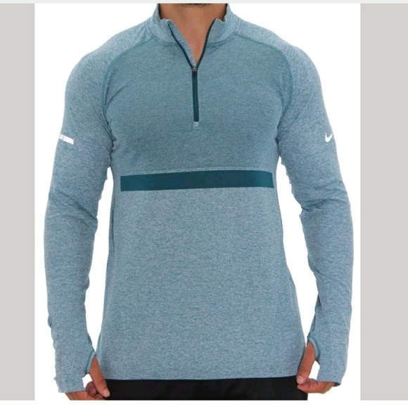 db4946f58d53 MENS NIKE DRI-FIT 1 2 KNIT RUNNING SHIRT